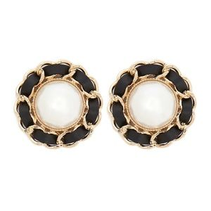 BRAND NEW Statement Faux Pearl Stud Earrings